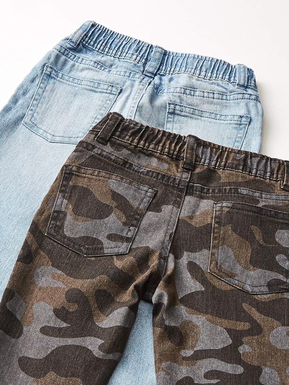 Spotted Zebra Boys Stretch Denim Pants Jeans