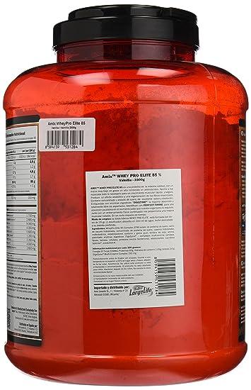 Amix Wheypro Elite 85, Proteínas, 2300 g: Amazon.es: Salud y ...