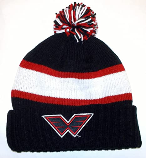 4753ea4b761 Image Unavailable. Image not available for. Color  NLL Philadelphia Wings  Cuffed with Pom Reebok Knit Hat ...