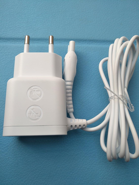HQ8000 HQ8500 Blanco afeitadora – Cable de carga para afeitadora Philips adaptador conector Red HQ de serie: Amazon.es: Electrónica