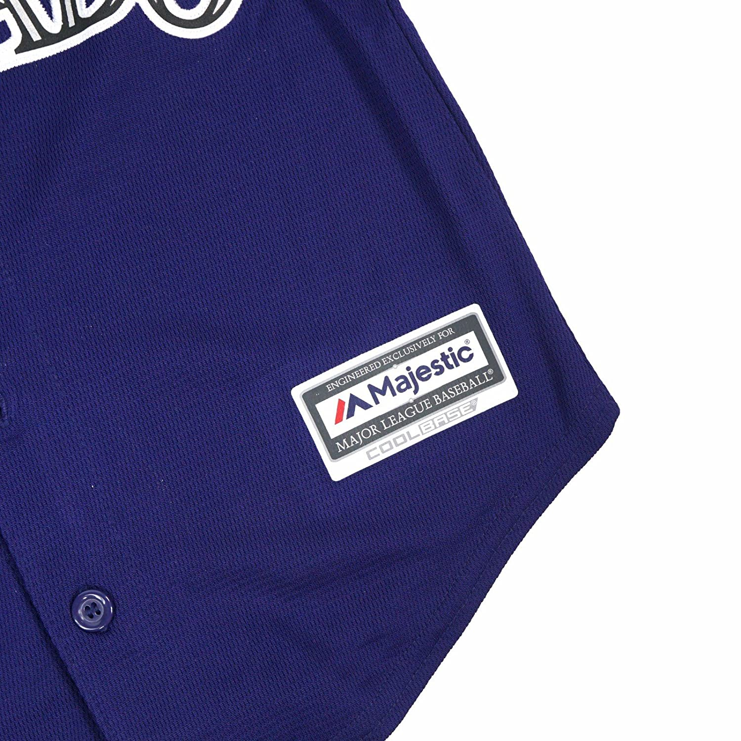 3f4f06703 Amazon.com   Team Colorado Rockies MLB Majestic Purple Official Alternate Cool  Base Jersey For Toddler   Sports   Outdoors