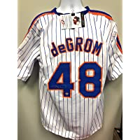 $249 » Jacob deGrom New York Mets Signed Autograph Custom Jersey White Pin LoJo Sports Certified