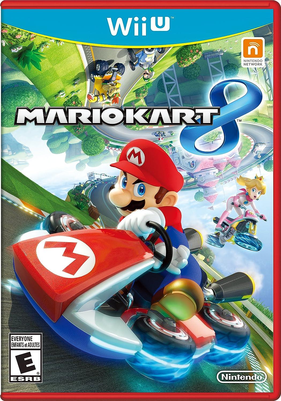 Amazon Com Mario Kart 8 Nintendo Wii U Nintendo Of America