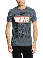 Marvel Men's Marvel Mono Comic Short Sleeve T-Shirt
