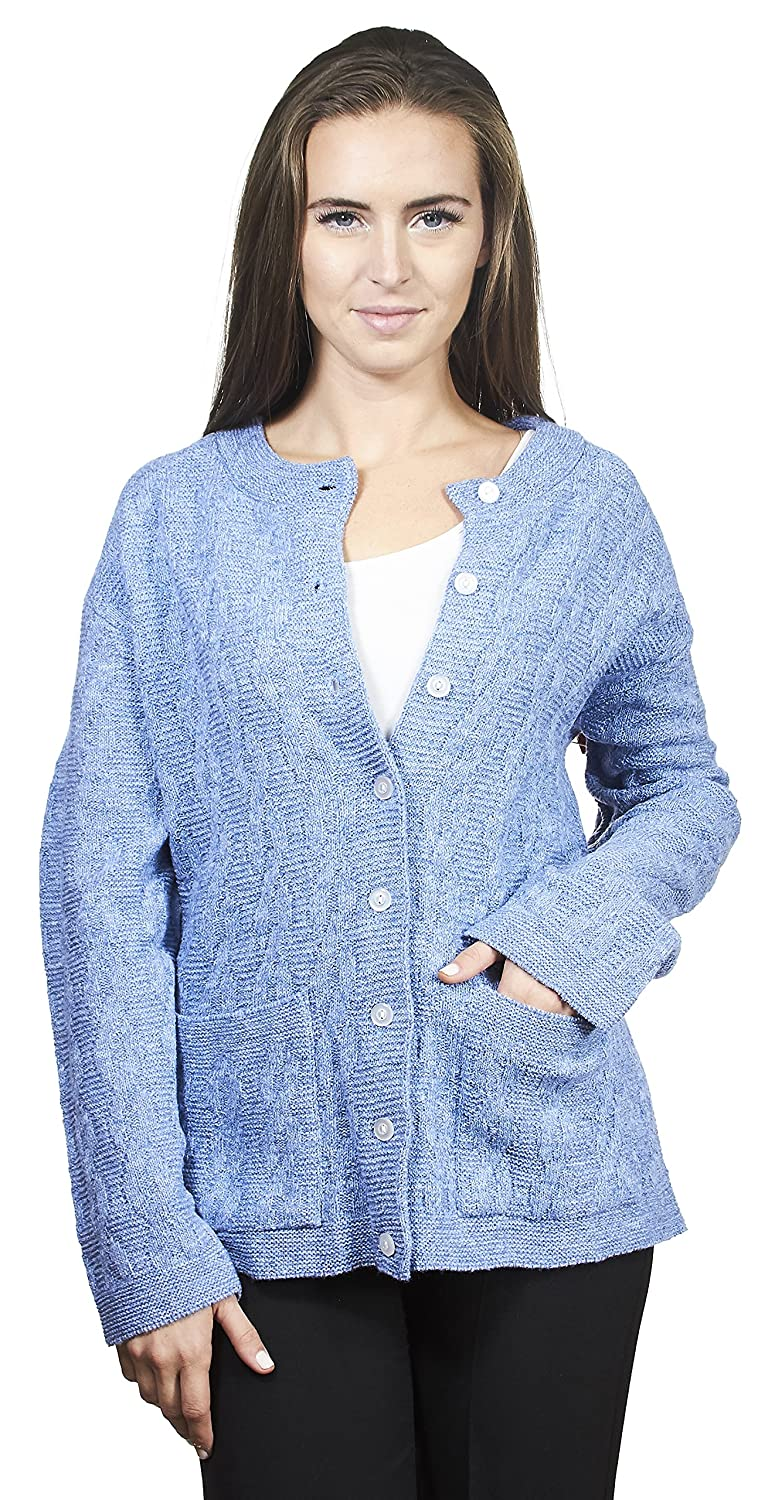 713cc9d8cd193 WRAP IN STYLE  Stay cozy yet fashionable even on a cold season. This  novelty sweater features a cable knit design