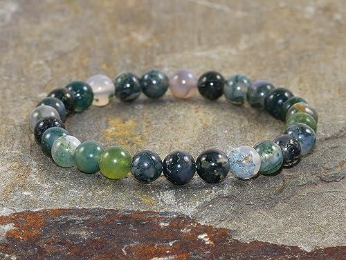 6MM Nueva. Pulsera Budista Jade Natural