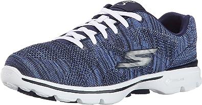 Vacilar por no mencionar archivo  Amazon.com | Skechers Performance Women's Go Walk 3 Lace-Up Walking Shoe |  Fashion Sneakers