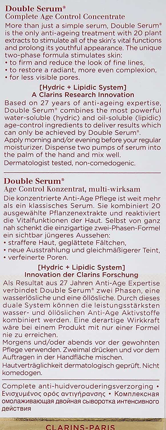 Double Serum by Clarins #10