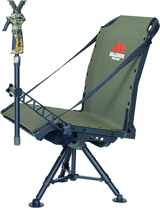 best hunting blind chair: Millennium Treestands G100 Shooting Chair