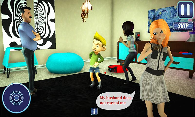 Juegos de simulacra de papá 3d: Baby care Modern Family: Amazon.es ...