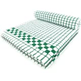 Fecido Classic Kitchen Dish Towels - Heavy Duty - Super Absorbent - 100% Cotton - Professional Grade Dish Cloths - European Made Tea Towels - Set of Two, Dark Green