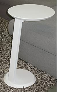 Tavolino da salotto moderno accanto divano Gioia Bianco - Tavolino ...