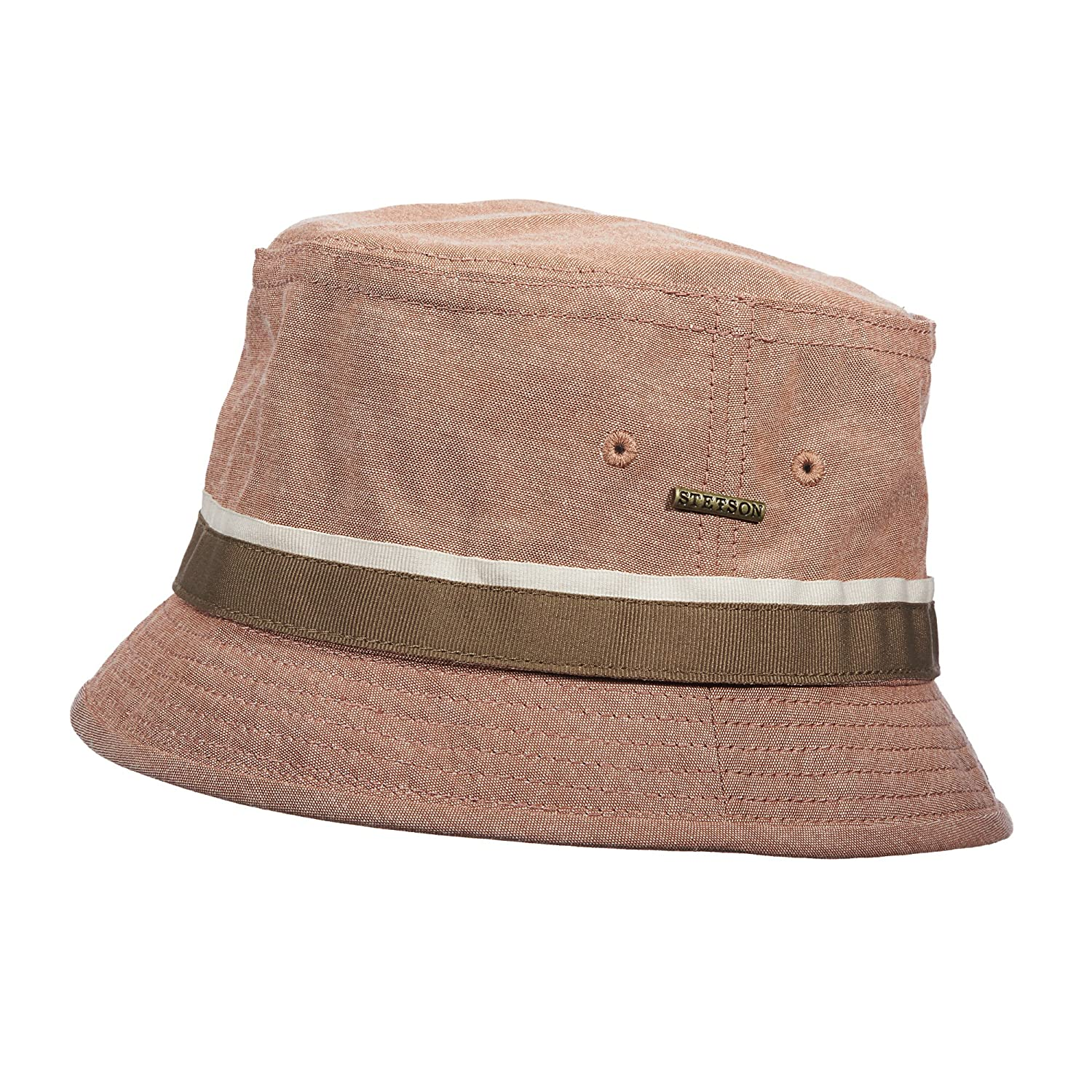 Stetson Oxford Fash Bucket Hat at Amazon Men s Clothing store  c6ac41a2f67
