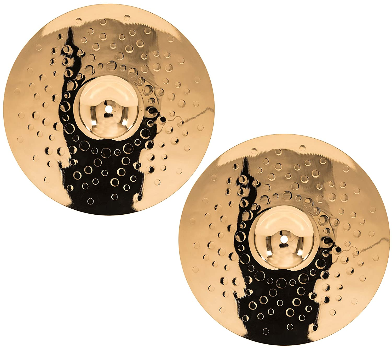 Hi Hat Meinl 14 Powerful Hihat CC14PH-B Made in Germany 2-YEAR WARRANTY Cymbal Pair Classics Custom Brilliant