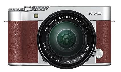 Fujifilm X A3 Mirrorless Camera Xc16 50mm F3 5 5 6 Ii Lens Kit Brown