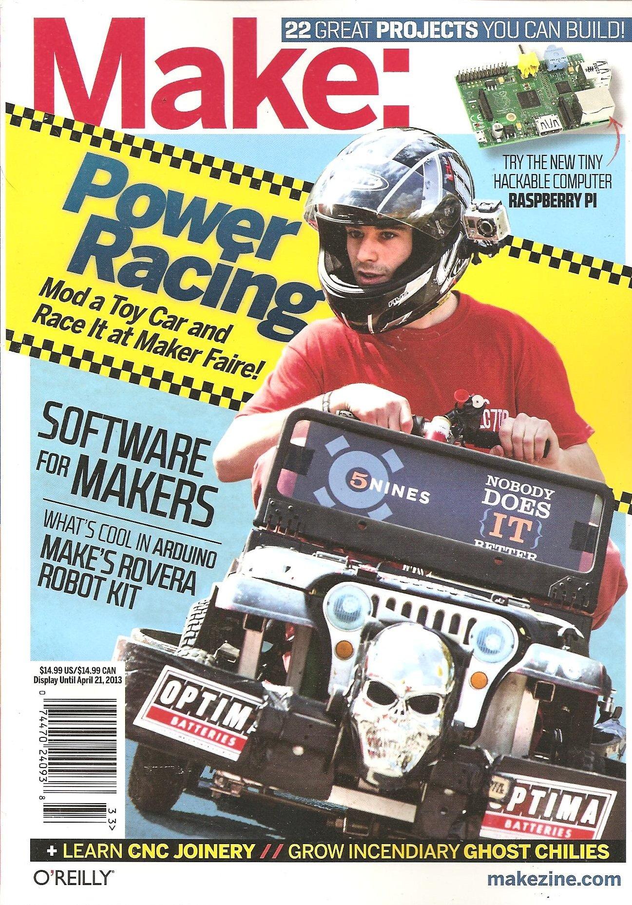 Make Magazine Volume 33 product image