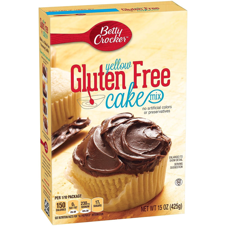 Betty Crocker Baking Mix, Gluten Free Cake Mix, Yellow, 15 Oz Box