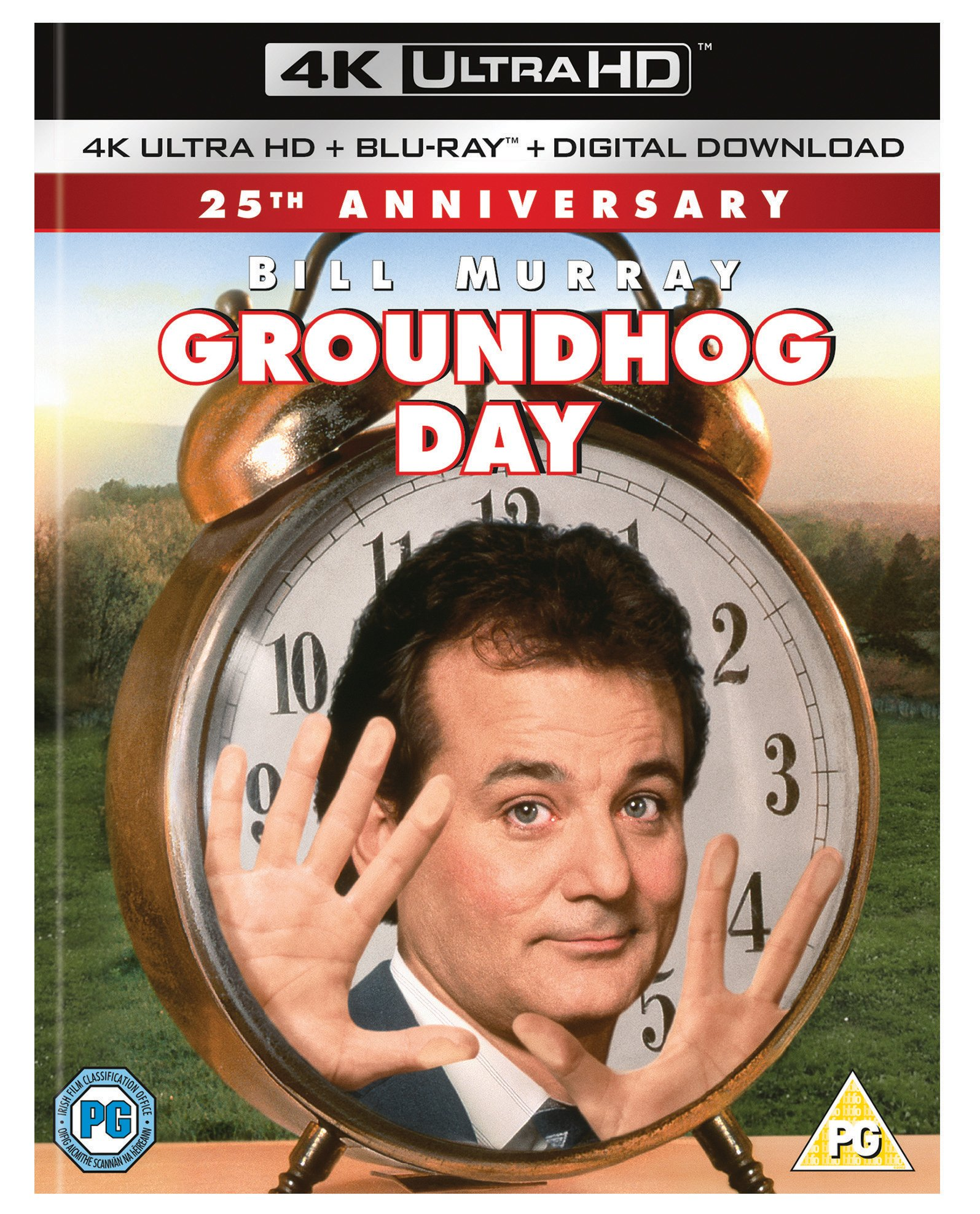 4K Blu-ray : Groundhog Day (With Blu-Ray, 4K Mastering, Digital Copy, Dolby, 2PC)