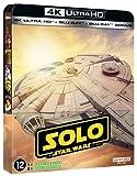 Solo : a Star Wars story - steelbook 4K + 2D + bonus [Blu-ray] [Édition SteelBook 4K Ultra HD + Blu-ray + Blu-ray Bonus]