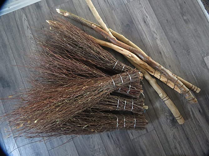 DIY Besom broom, CONSTRUCT YOUR OWN Witches broomstick for