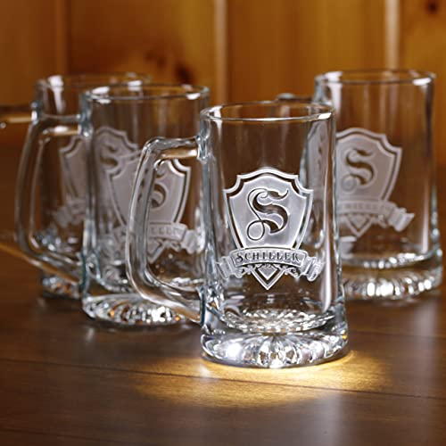 Personalised Beer Mugs (Monogrammed)