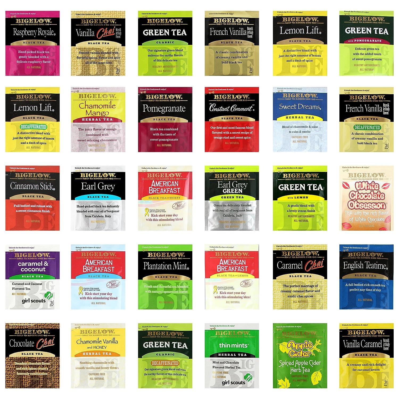Bigelow herbal tea - Amazon Com Custom Varietea Bigelow Tea Bags Assortment Includes Mints 120 Count Grocery Gourmet Food