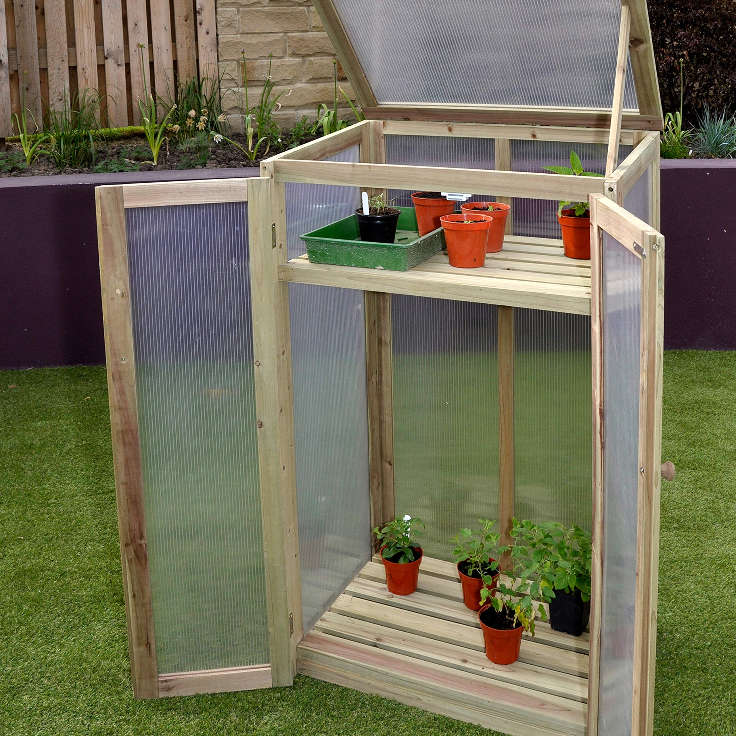 Spear & Jackson Cold Frame, 690 x 485 x 1200 mm