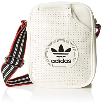 1a28f06e61 adidas Mini Perforated Shoulder Bag - Core White Black  Amazon.co.uk ...