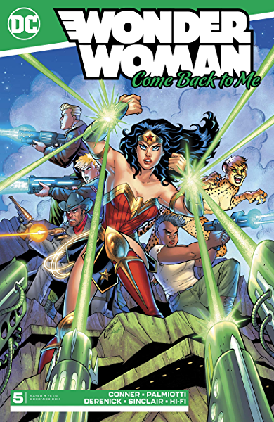 of 6 DC Comic Book 2019 Wonder Woman come Back to Me #2