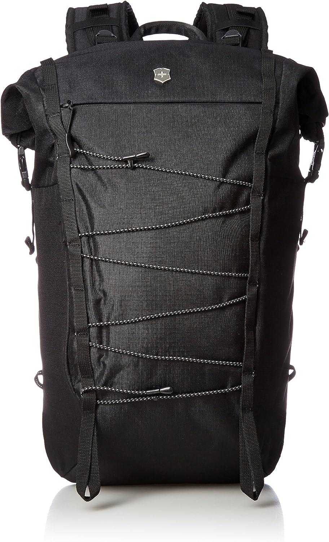 Victorinox Altmont Active Rolltop Compact Laptop Backpack, Black, 18.9-inch