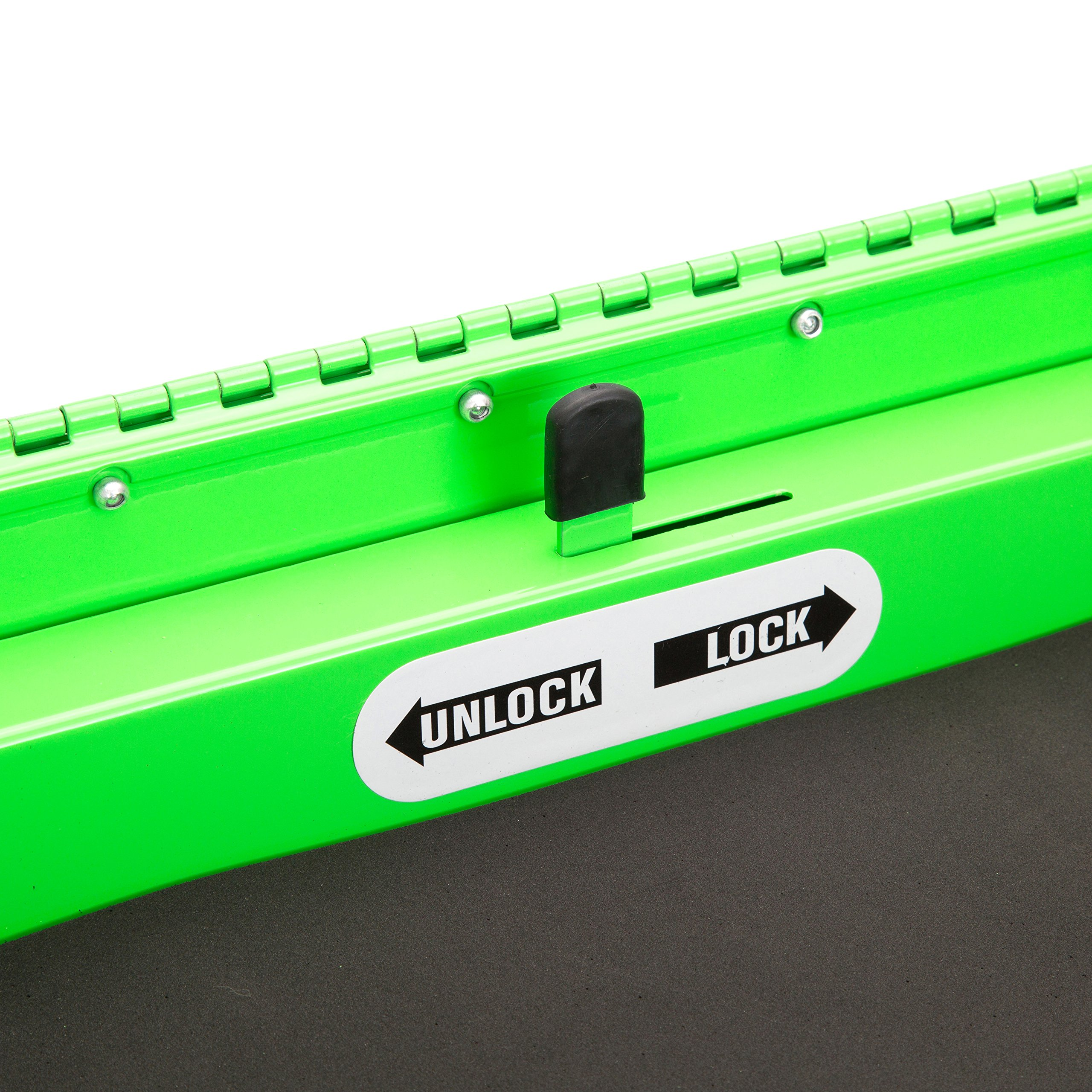 Professional Service Cart - 5 Drawer and 1 Tray (Green) by OEMTOOLS (Image #7)
