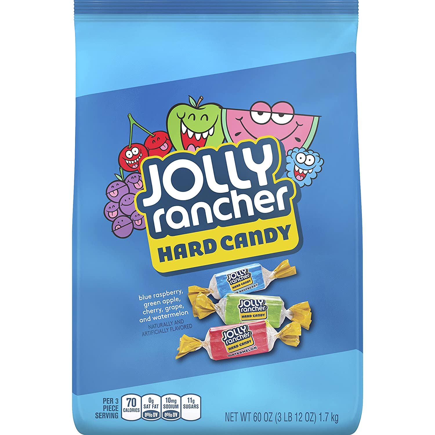 JOLLY RANCHER Hard Candy Assortment, 3.75 Pound