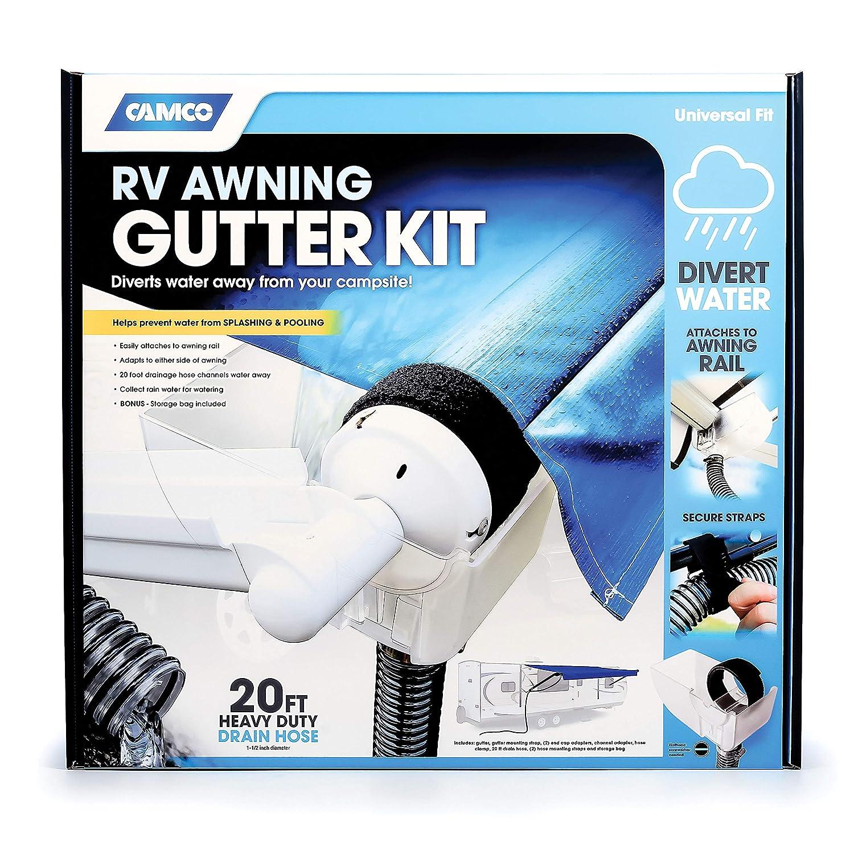 Camco 42010 Awning Gutter Kit
