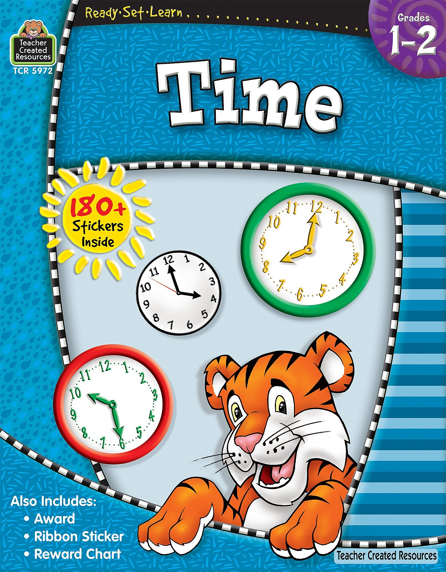 Ready-Set-Learn: Time Grd 1-2: Teacher Created Resources Staff ...