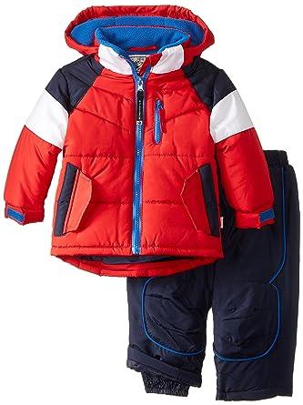 74edfe1026cf Amazon.com  Rothschild Baby Boys  Flap Pocket Snowsuit