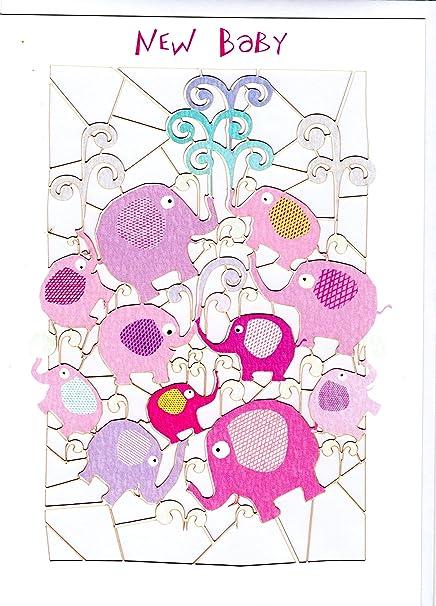 excepcional tarjeta de felicitación para día de nacimiento. Diseño ...