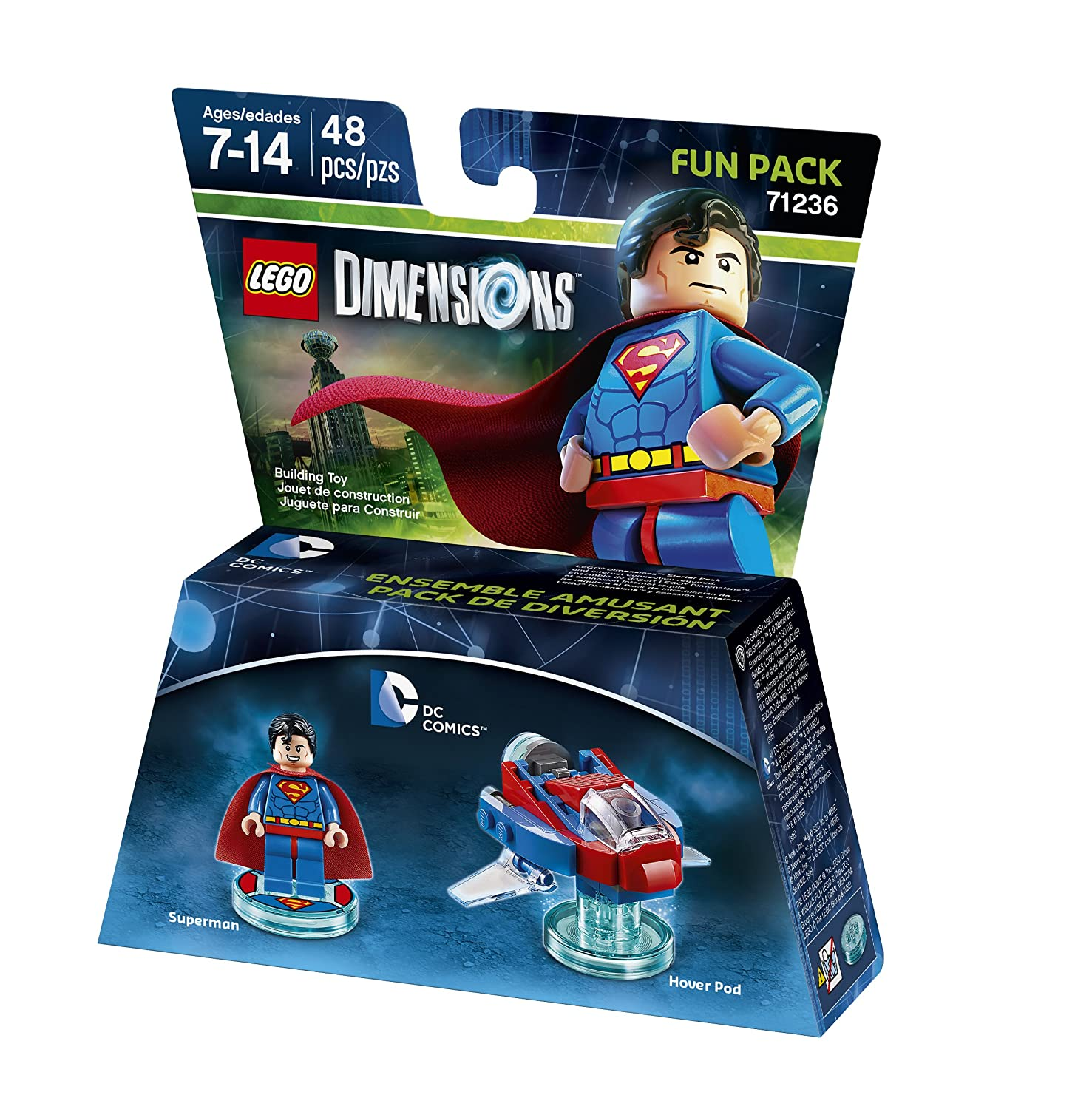 DC Superman Fun Pack LEGO Dimensions Warner 1000561500