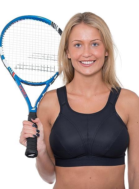 43f031b6dd Gem GEMM Plus Size Sports Bra for Women Black Non Wired High Impact ...