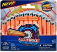NERF Elite - AccuStrike 12 Pack Official Darts - Compatible with Fortnite Scar AR-L, Supressed Pistol SP-L, Rhinofire, Infinus & Hyperfire Blasters