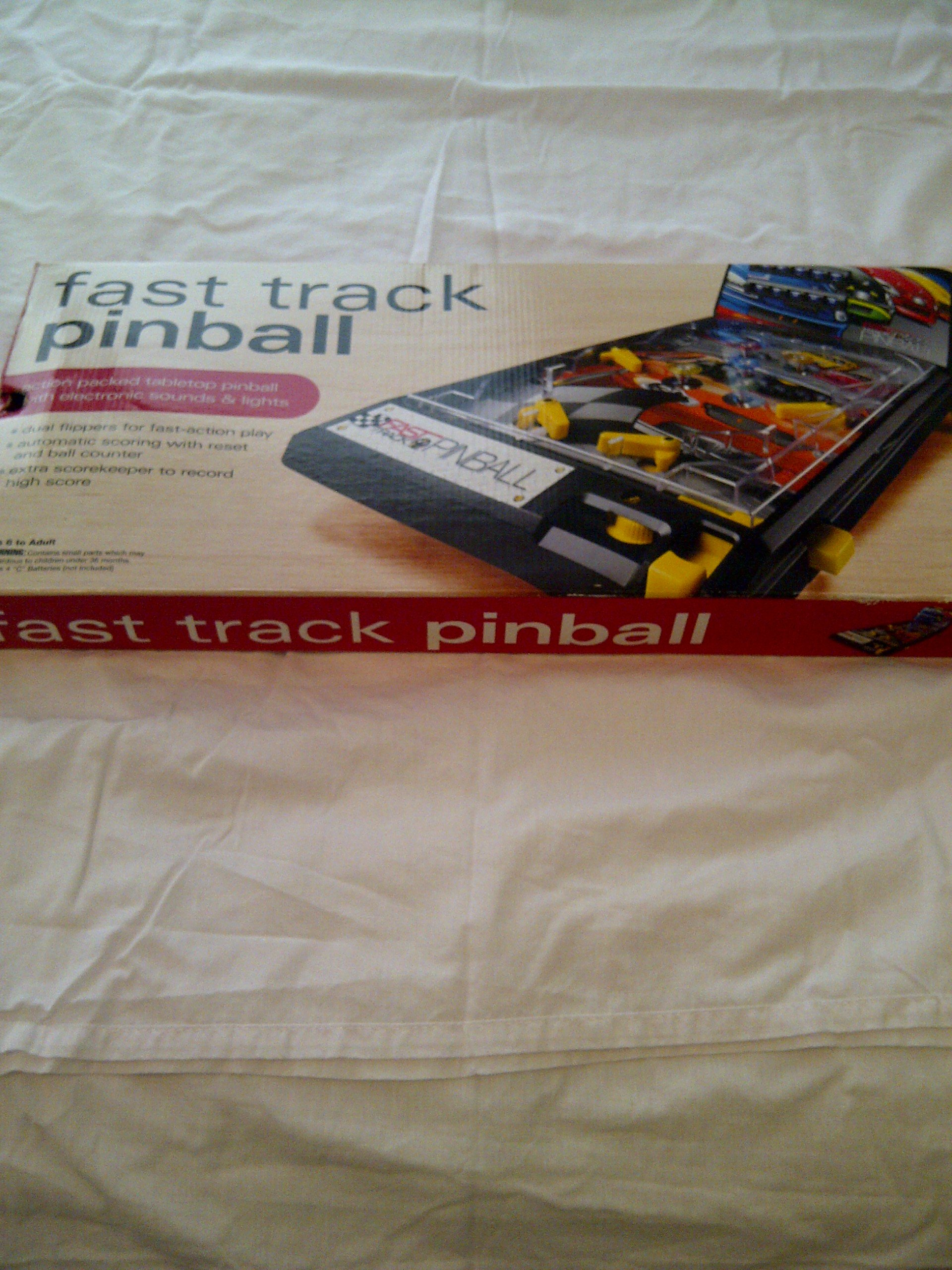 Fast Track Table Top Pinball Arcade Games Pinball Game