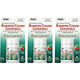 Robafen Cough Liquidgels Dextromethorphan HBr, USP 15mg, 20 Liquidgels (3 Packs)
