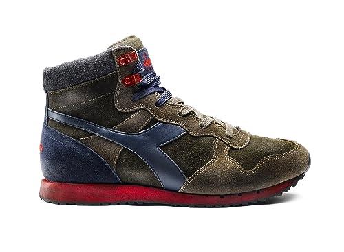 Diadora Heritage - Sneakers Trident Mid S SW per Uomo IT 44  Amazon ... aee875c978f