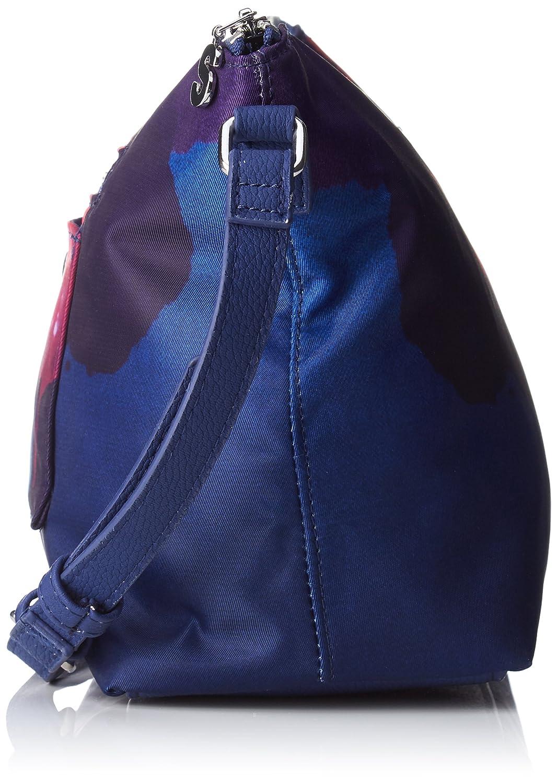 Desigual Bols/_blue Painter/_catania B x H T 10.5x20.5x24.5 cm Sacs bandouli/ère femme Jeans Bleu