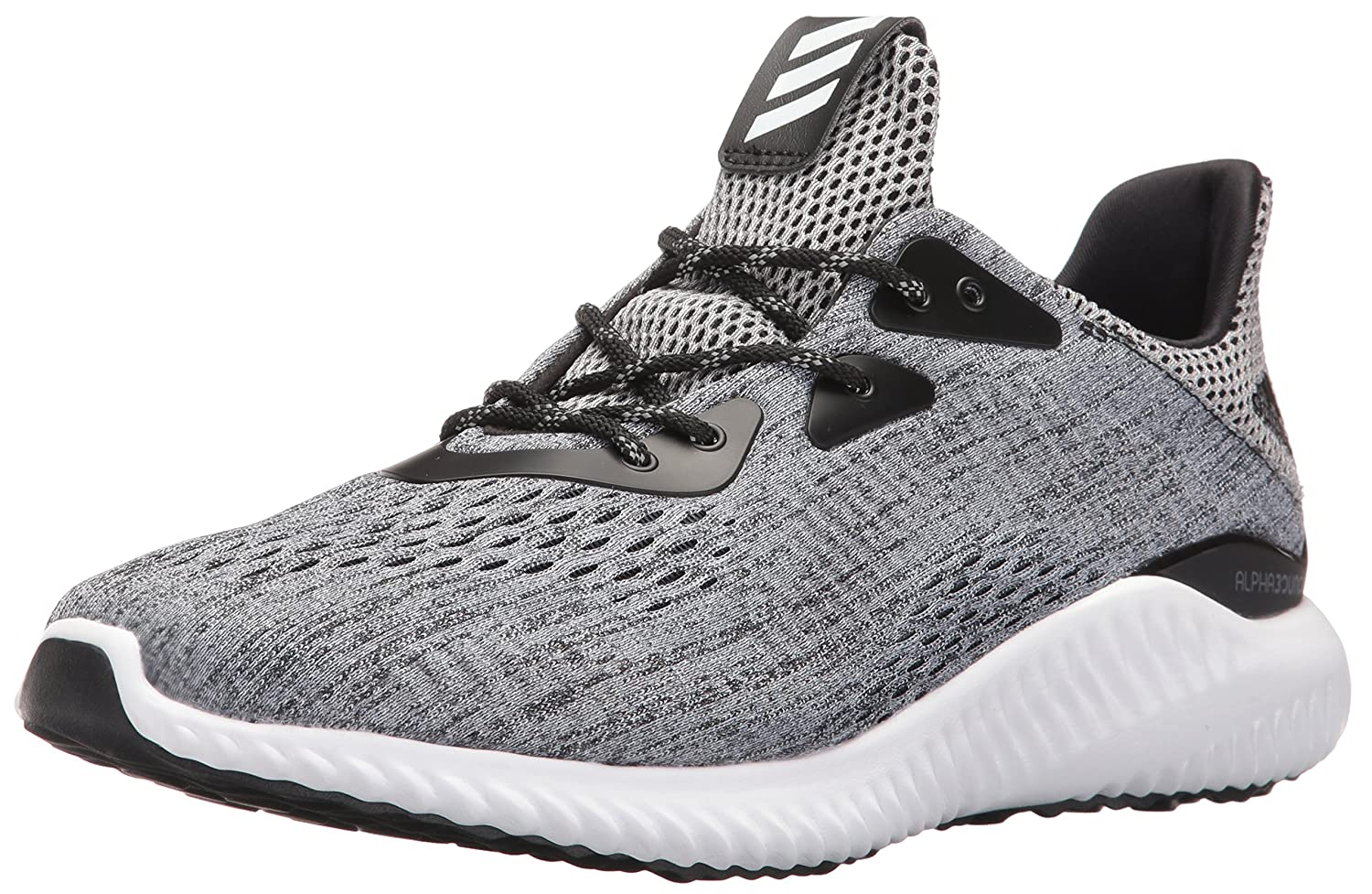 46e3a756a Adidas Mens Alphabounce Em M Running Shoes Black White Black Pick A Best  75L069