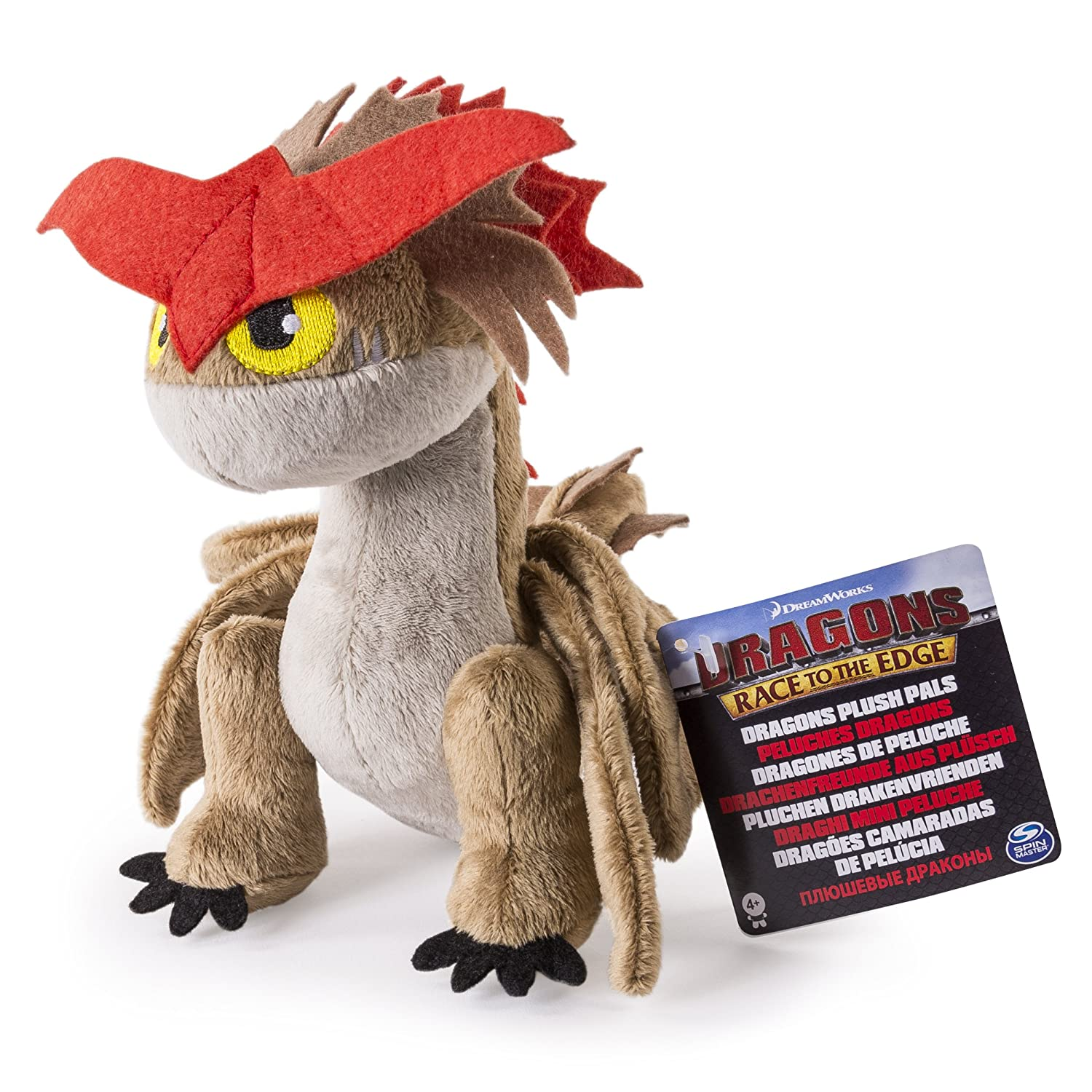"Amazon.com: DreamWorks Dragons Race To The Edge – 8"" Premium Plush – Cloudjumper: Toys & Games"