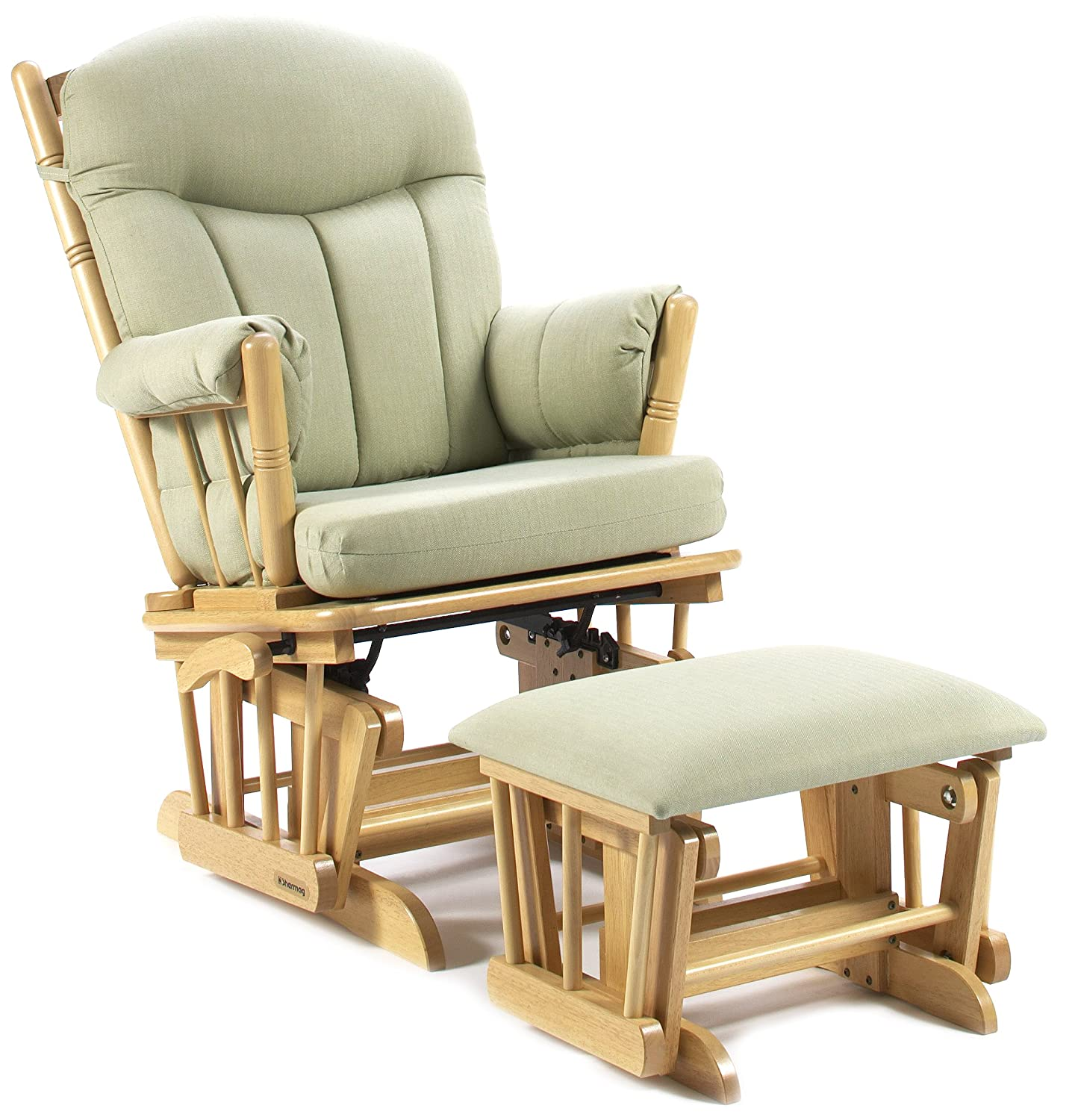 Amazon.com Shermag Post Glider Rocker Combo Natural/Light Green Baby  sc 1 st  Amazon.com & Amazon.com: Shermag Post Glider Rocker Combo Natural/Light Green ... islam-shia.org