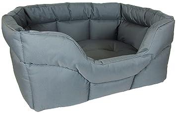 P & L Superior Pet Beds - camas para mascotas resistentes, rectangulares, impermeables,