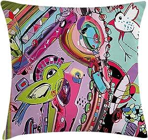 Amazon.com: Modern Decor Throw Pillow Cushion Cover by