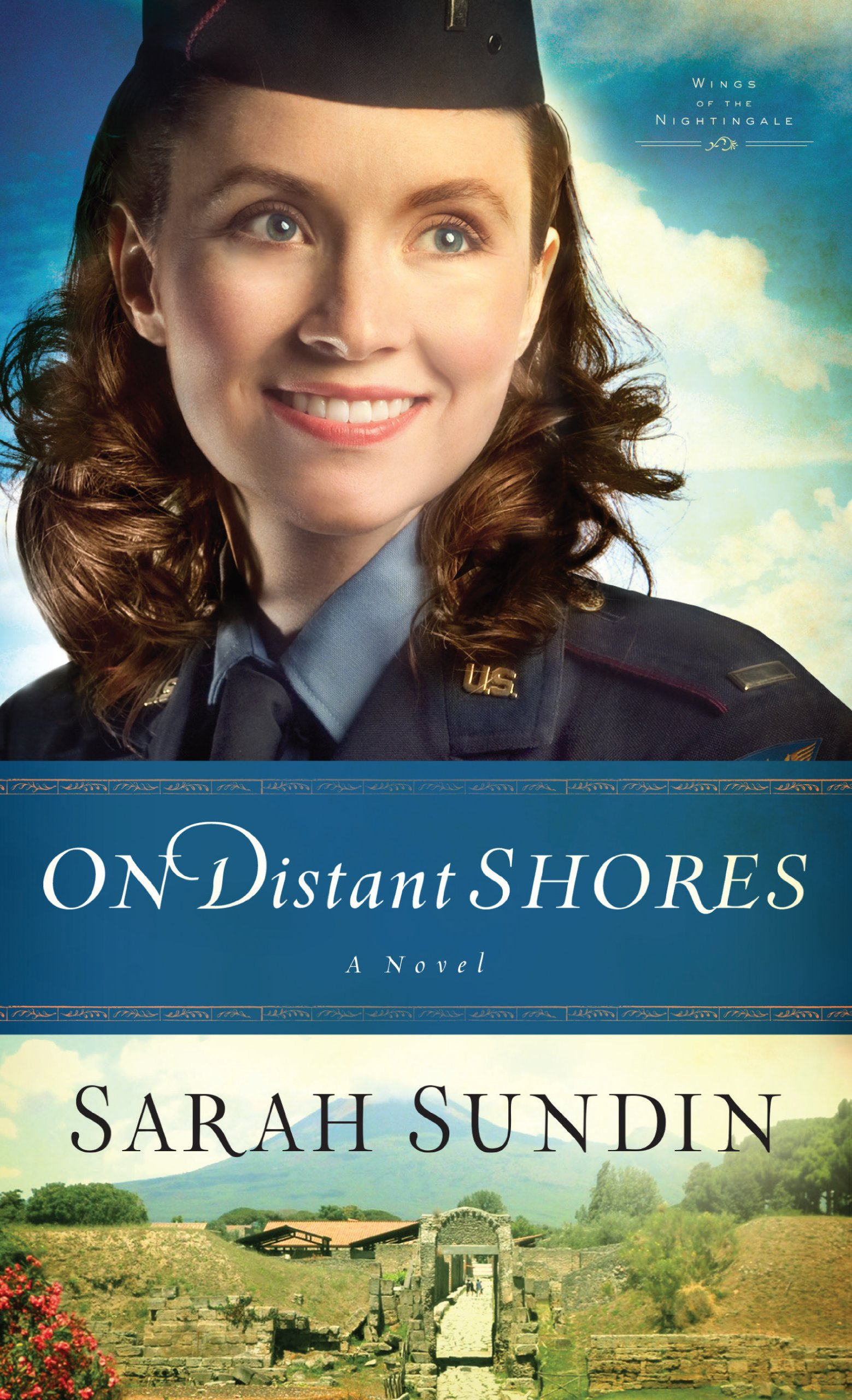 Download On Distant Shores (Wings of the Nightingale: Thorndike Press Large Print Christian Historical Fiction) pdf epub