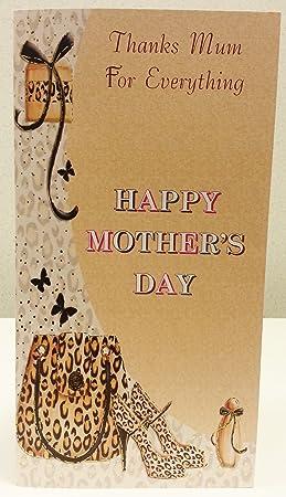 Merci Maman Pour Tout Ce Qui Happy Mothers Day Carte De Voeux
